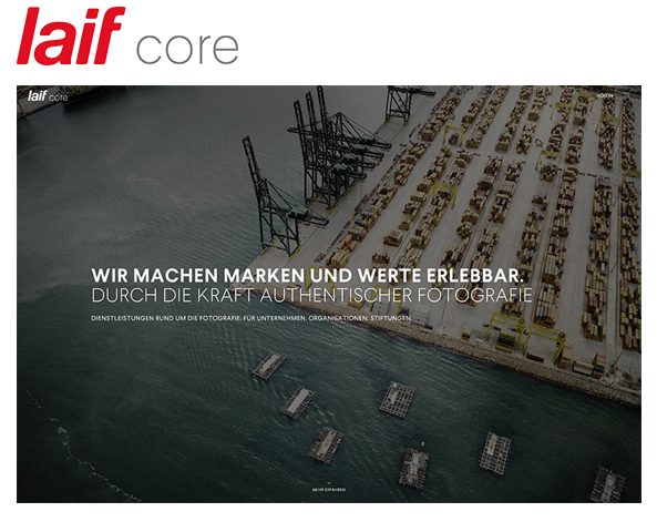 laif core – neue Business-Unit für Corporate Photography