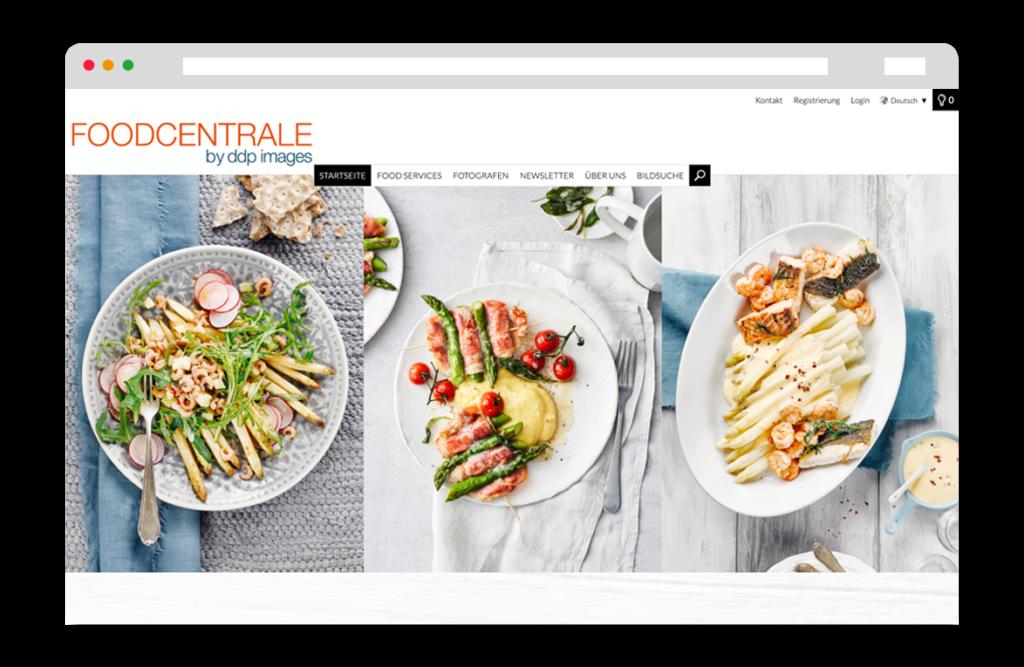 Food Centrale Website