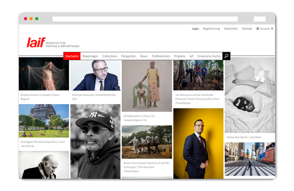 Laif Website